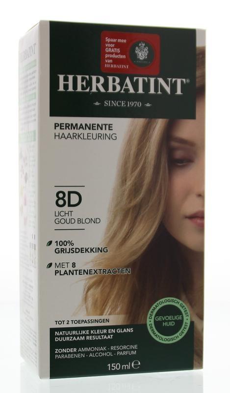Herbatint Herbatint 8D Light golden blonde (150 ml)