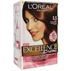 Loreal Excellence 5.5 licht mahoniebruin (1 set)