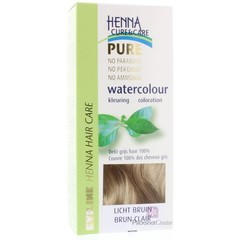 Henna Cure & Care Watercolour lichtbruin (5 gram)