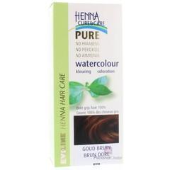 Henna Cure & Care Watercolour goudbruin (5 gram)