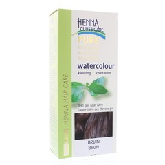 Henna Cure & Care Watercolour bruin (5 gram)
