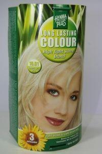 Henna Plus Long lasting colour 10.01 silver blond (100 ml)