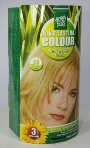 Henna Plus Long lasting colour 8.3 golden blond (100 ml)