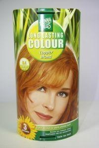 Henna Plus Long lasting colour 8.4 copper blond (100 ml)