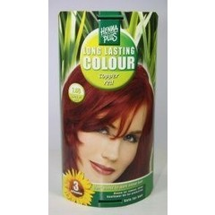 Henna Plus Long lasting colour 7.46 copper red (100 ml)