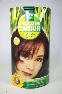 Henna Plus Long lasting colour 4.67 red violet brown (100 ml)