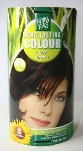 Henna Plus Long lasting colour 3 dark brown (100 ml)