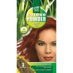 Henna Plus Colour powder 55 super red (100 gram)