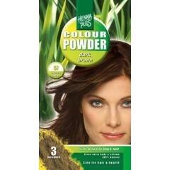 Henna Plus Colour powder 57 dark brown (100 gram)