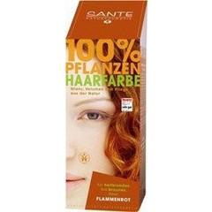 Sante Haarverf vlammend rood BDIH (100 gram)