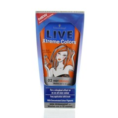 Live Xtreme colors 02 hot orange (150 ml)