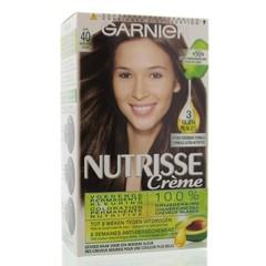 Garnier Nutrisse 4 cacao midden bruin (1 set)