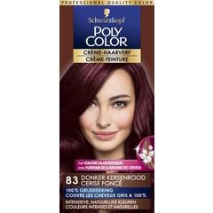 Poly Color Creme haarverf 83 donker kersenrood (90 ml)