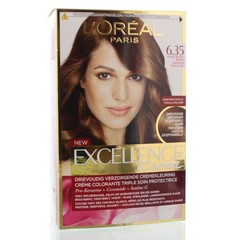 Loreal Excellence 6.35 Hazelnoot bruin (1 set)