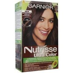 Garnier Nutrisse ultra color 4.15 koel mid kastanjebruin (1 set)