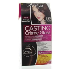 Loreal Casting creme gloss 323 Hot chocolate (1 set)