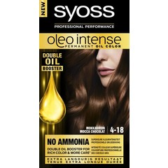 Syoss Color Oleo Intense 4-18 mokkabruin haarverf (1 set)