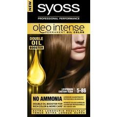 Syoss Color Oleo Intense 5-86 lichtbruin haarverf (1 set)