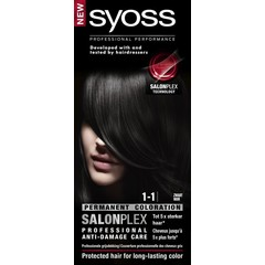 Syoss Color baseline 1-1 black haarverf (1 set)