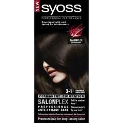 Syoss Color baseline 3-1 donkerbruin haarverf (1 set)