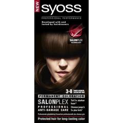 Syoss Color baseline 3-8 donker goudbruin haarverf (1 set)