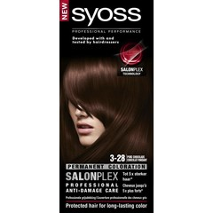 Syoss Color baseline 3-28 pure chocolade haarverf (1 set)