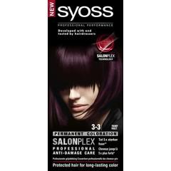 Syoss Color baseline 3-3 trendy violet haarverf (1 set)