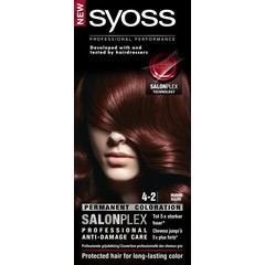 Syoss Color baseline 4-2 mahonie haarverf (1 set)
