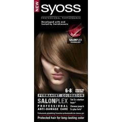 Syoss Color baseline 6-8 donkerblond haarverf (1 set)
