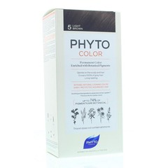 Phyto Paris Phytocolor chatain clair 5 (1 stuks)