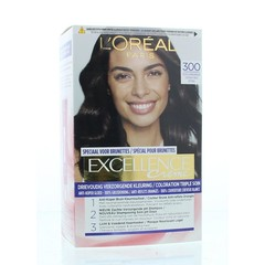 Loreal Excellence 300 puur donker bruin (1 set)