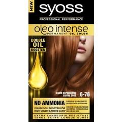 Syoss Color Oleo Intense 6-76 warm koperblond haarverf (1 set)