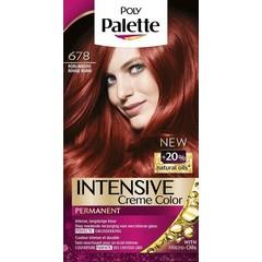 Poly Palette Haarverf 678 Robijn rood (1 set)