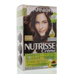 Garnier Nutrisse 3.23 violet donker bruin (1 set)