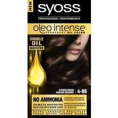 Syoss Color Oleo Intense 4-86 fluweelbruin haarverf (1 set)
