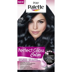Poly Palette Perfect Gloss Haarverf 110 Glossy Zwart (1 set)