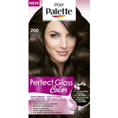 Poly Palette Perfect Gloss Haarverf 200 Donker Espresso (1 set)