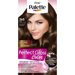 Poly Palette Perfect Gloss Haarverf 365 Chocolade (1 set)