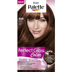 Poly Palette Perfect Gloss Haarverf 468 Subtiel Mahonie (1 set)