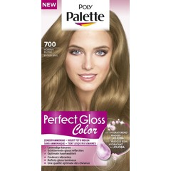 Poly Palette Perfect Gloss Haarverf 700 Honing Blond (1 set)