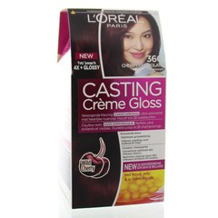 Loreal Casting creme gloss 360 Cherry black (1 set)