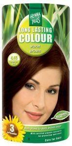 Henna Plus Long lasting colour 4.45 warm brown (100 ml)