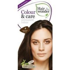 Hairwonder Colour & Care 4 medium brown (100 ml)