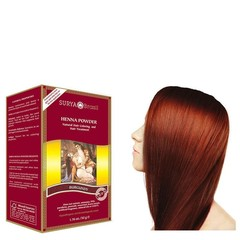 Surya Brasil Henna haarverf poeder Burgundy (50 gram)
