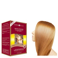 Surya Brasil Henna haarverf poeder aardbei blond (50 gram)