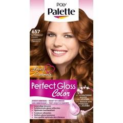 Poly Palette Perfect Gloss haarverf 657 Betoverend kaneel (1 set)