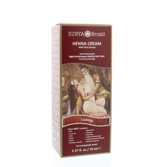 Surya Brasil Henna haarverf creme copper (70 ml)