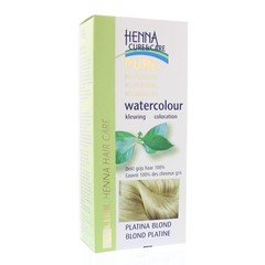 Henna Cure & Care Watercolour platina blond (5 gram)