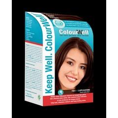 Colourwell 100% natuurlijke haarkleur mahonie (100 gram)