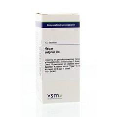VSM Hepar sulphur D4 (200 tabletten)